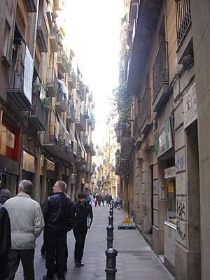 Vi runt gick i gränderna i gamla stan