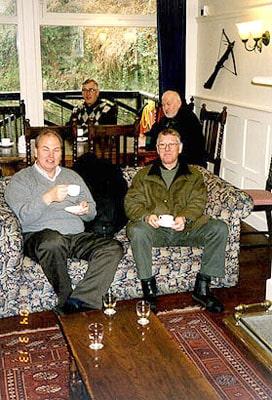 På Glengoyne hade vi Whiskyprovning och blev bjudna på kaffe