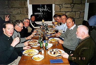 Italiensk restaurang i Skottland hmmm...