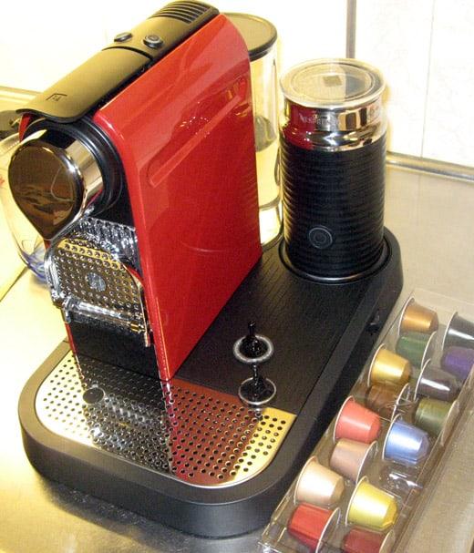 Kaffemaskinen Nespresso Citiz