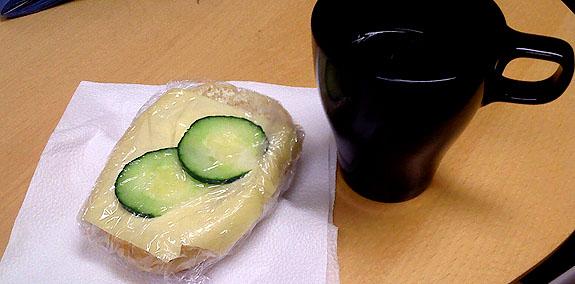 Ostfralla och te