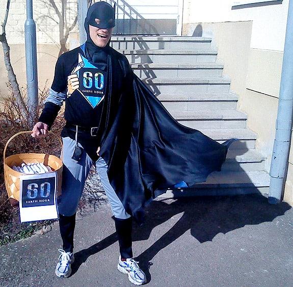 Earth Hour Superhjälte