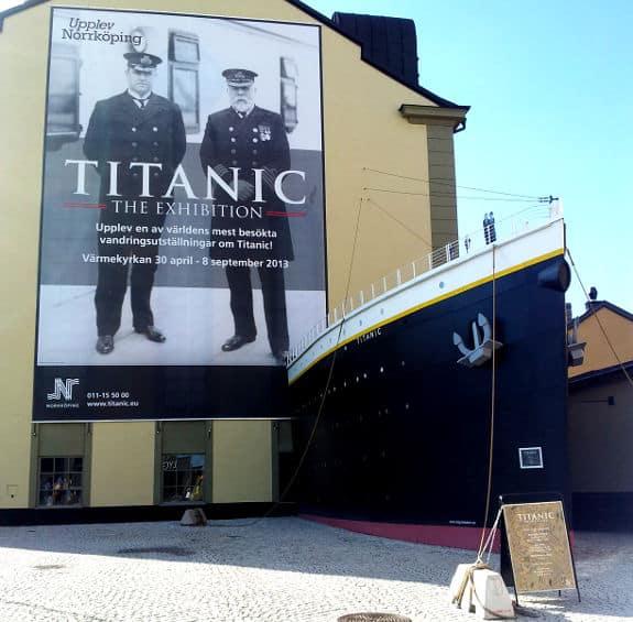 Utställningen Titanic