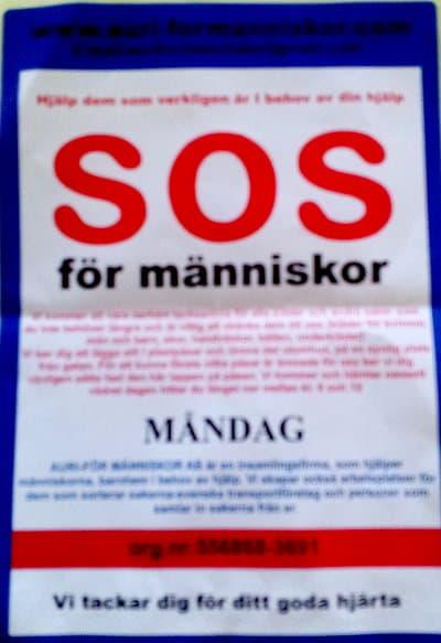 SOS för människor